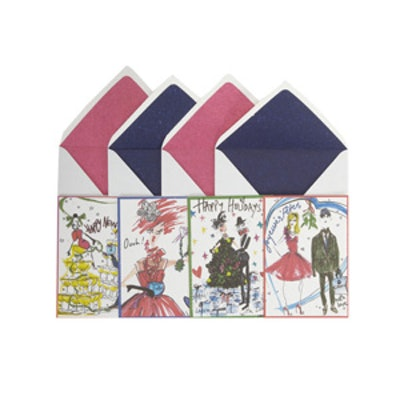 Set of Holiday Notecards