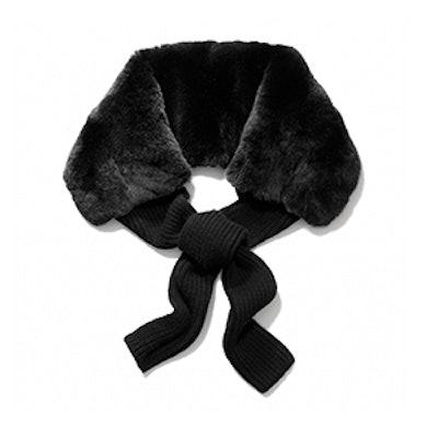 Rabbit Fur Cashmere Tie