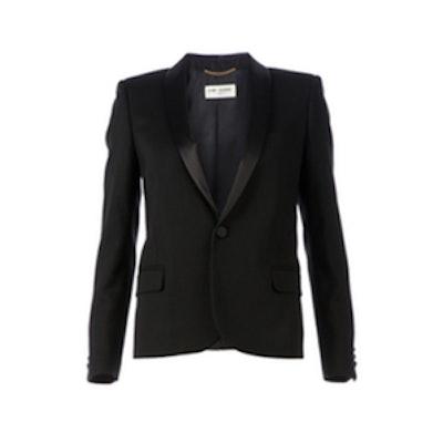 Tuxedo Blazer With Satin Lapels