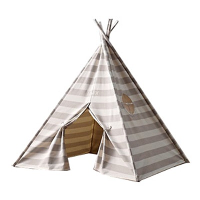 Striped Canvas Play Tent