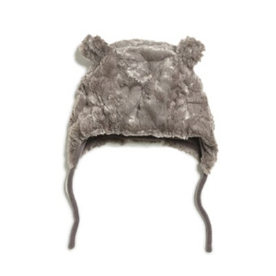 Fur Hat With Ears