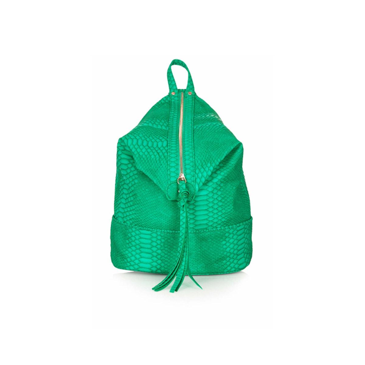 Snake Zip Backpack