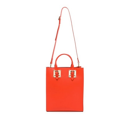 Structured Buckle Tote