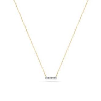 Sylvie Rose Yellow Gold & Diamond Necklace