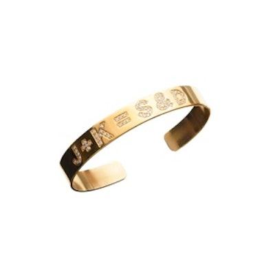 Custom Diamond Initial Bracelet