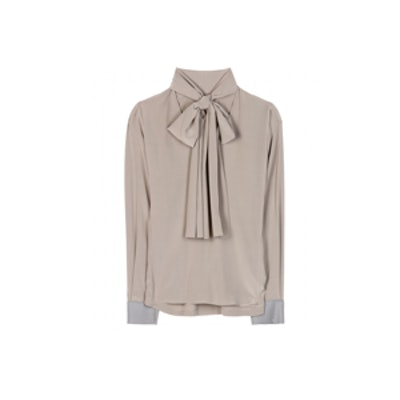 Putty Pussy Tie Blouse