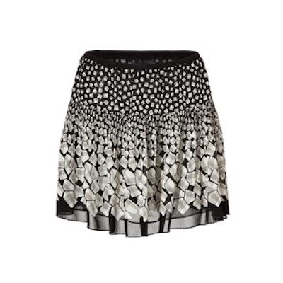 Optical Print Skirt