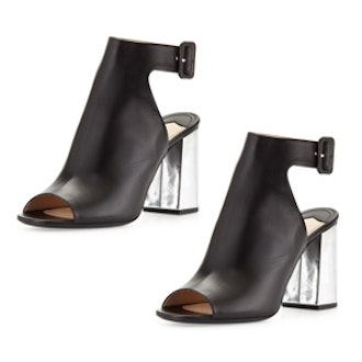 Ankle-Wrap Booties