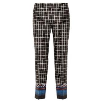 Silk-Blend Pants