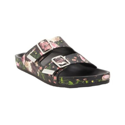 Floral-Print Sandals
