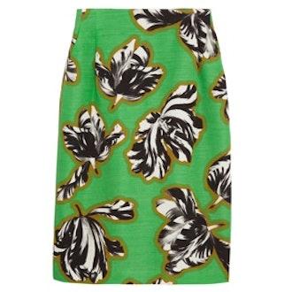 Tulip Print Skirt