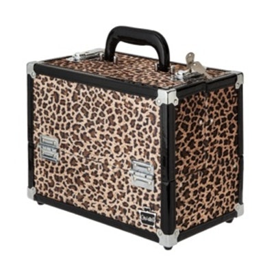 Leopard Train Case