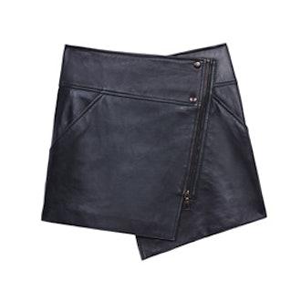 Bowery Asymmetrical Wrap Skirt