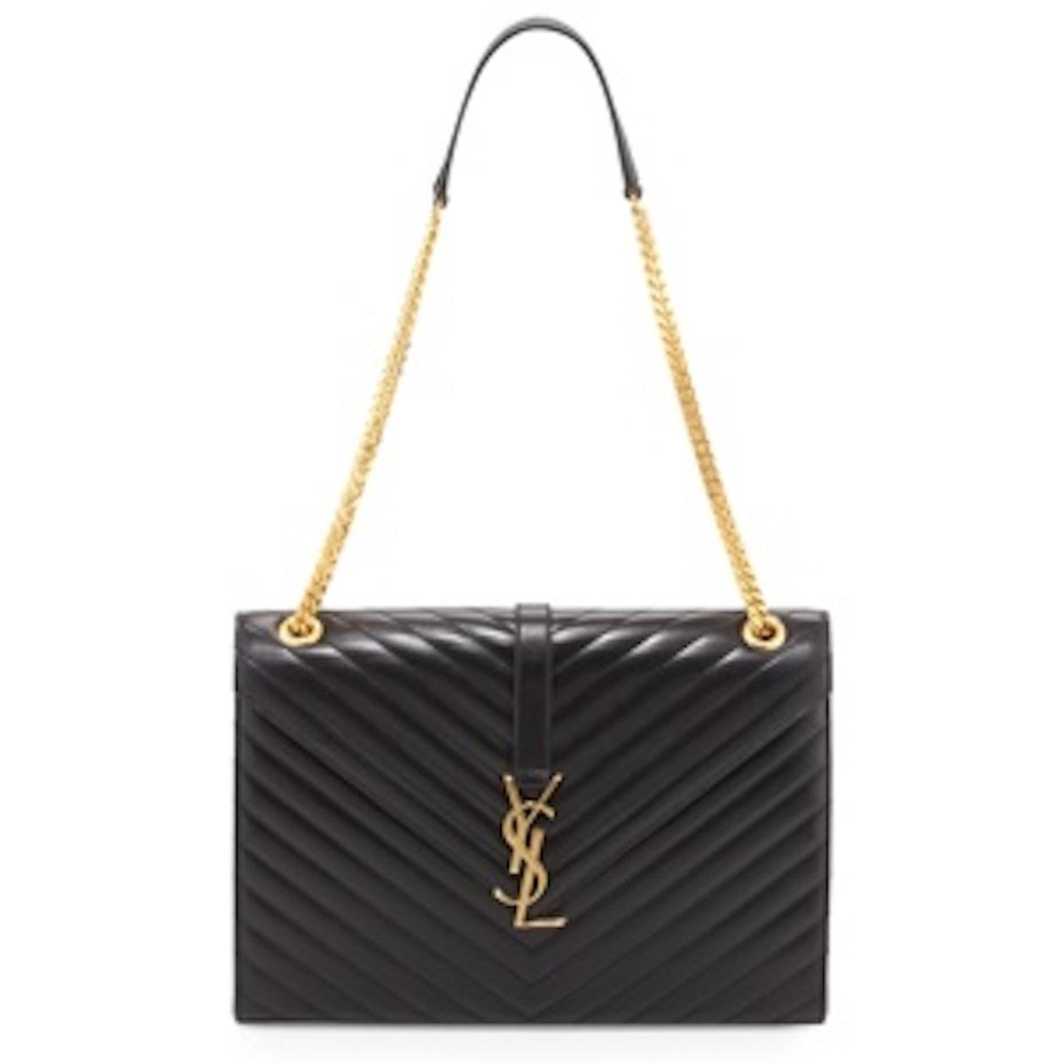 Chain-Strap Shoulder Bag