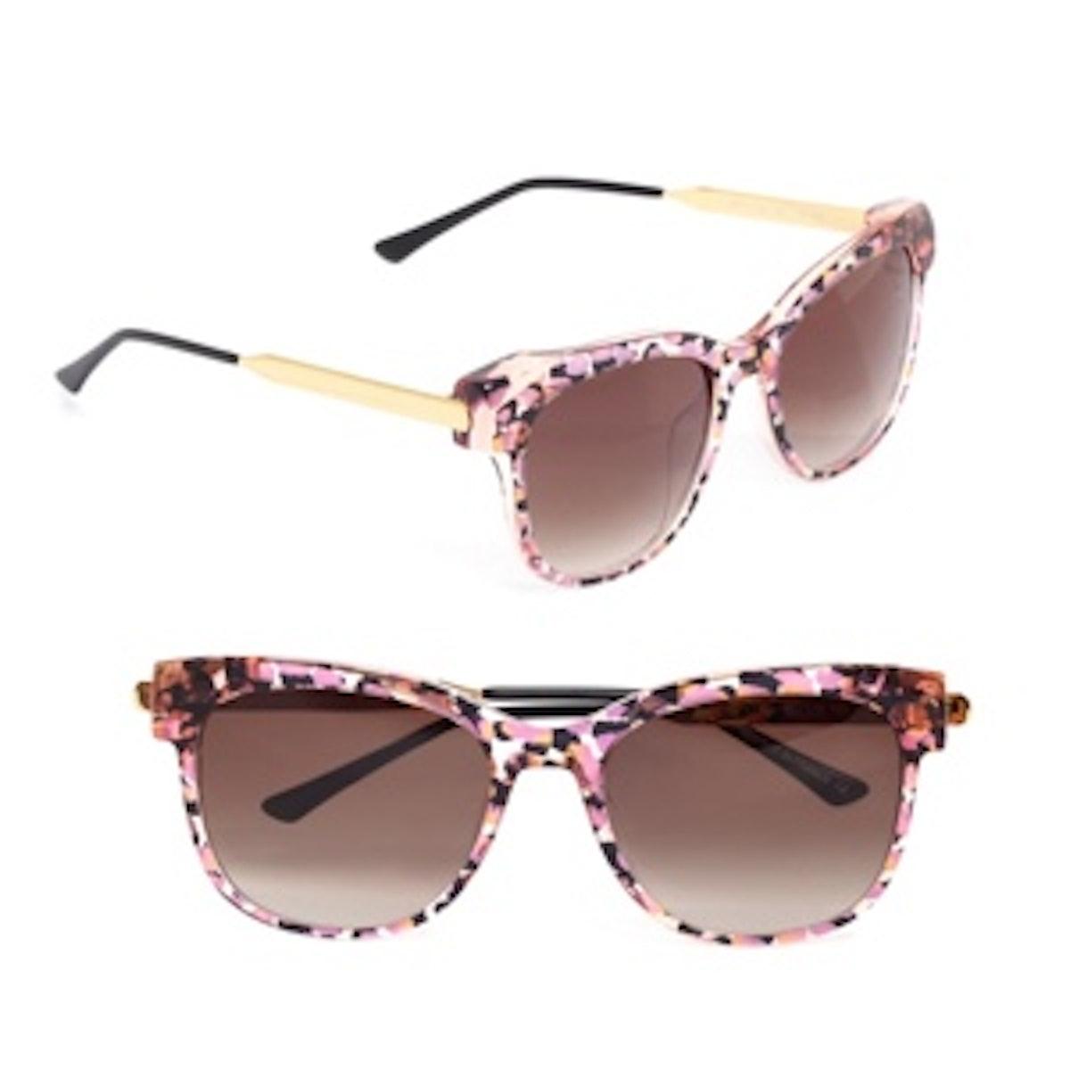 Lippy Round-Frame Sunglasses