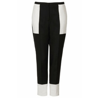 Contrast Tapered Trousers