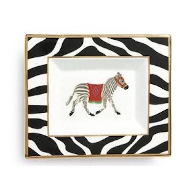 Ceramic Zebra Tray