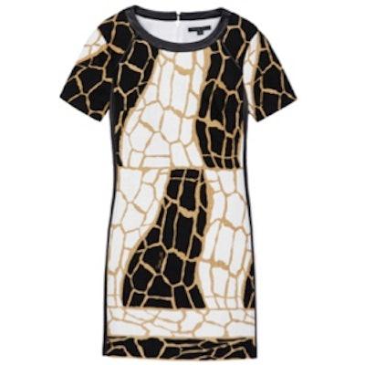 Landon Giraffe Print Dress