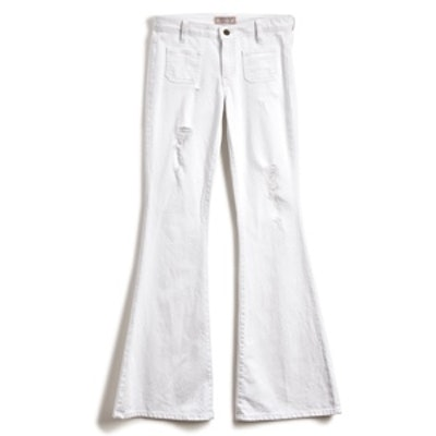 70s Mid-Rise Flare Jeans