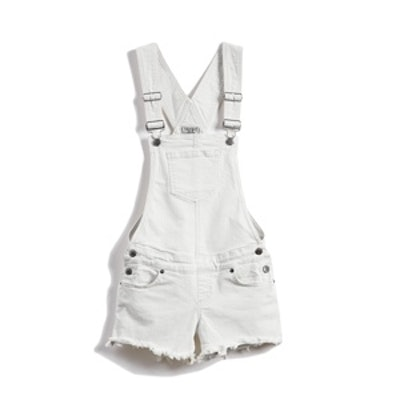 Paulette Denim Shortalls