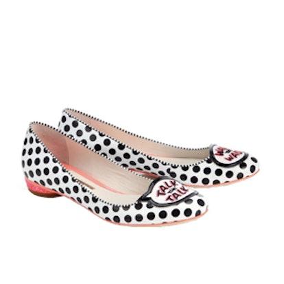 Polka Dot Ballet Flats