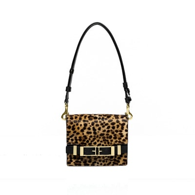 Davenport Clutch in Leopard