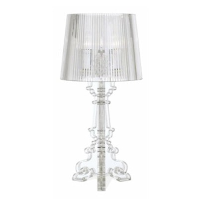 Baroque Clear Table Lamp