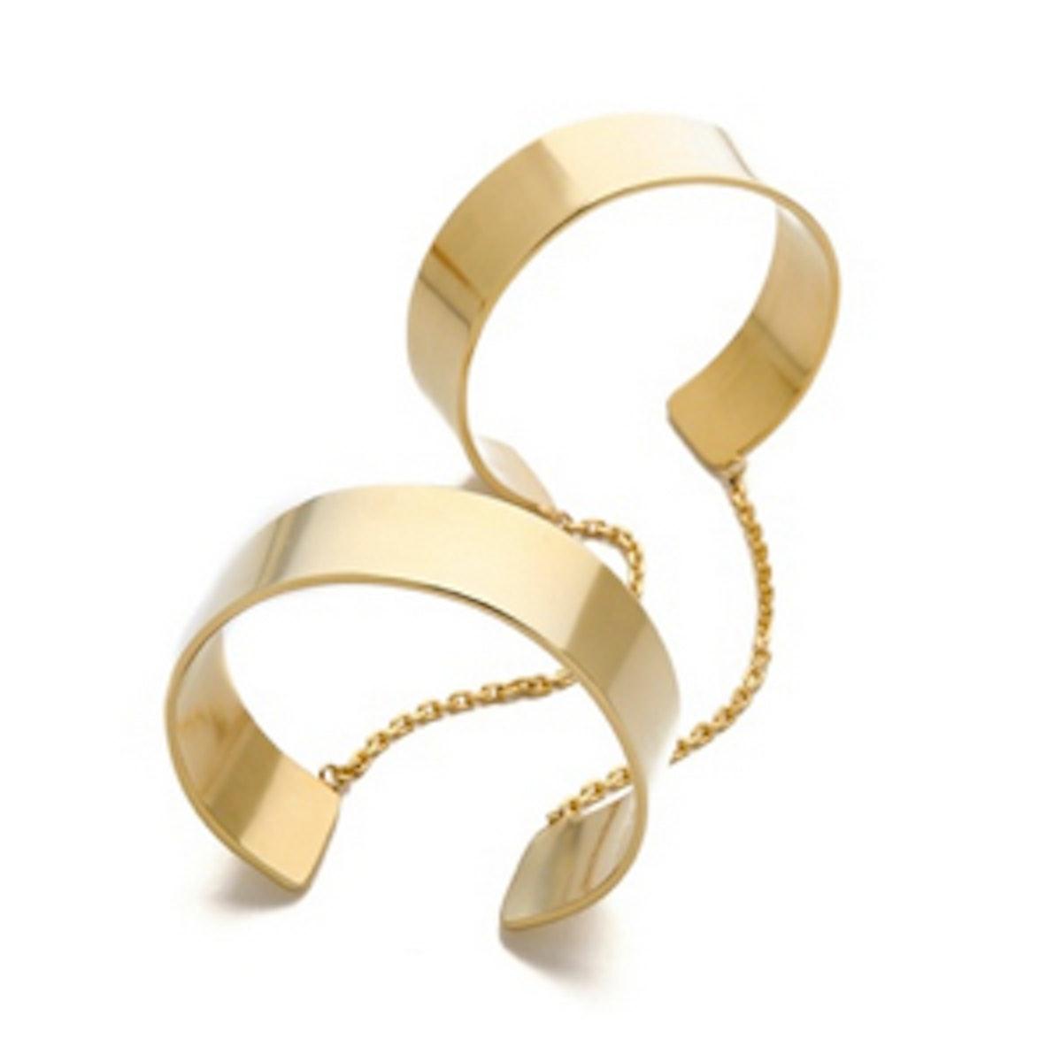 Anarchy Double Cuff Bracelet