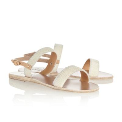 Clio Calf Hair Sandals