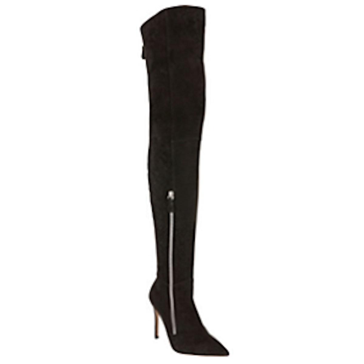 Double Zip Over The Knee Boots