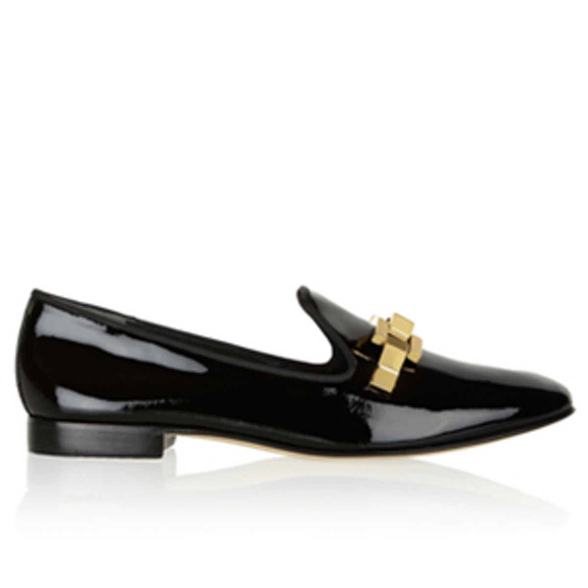 Isaac Patent-Leather Slippers