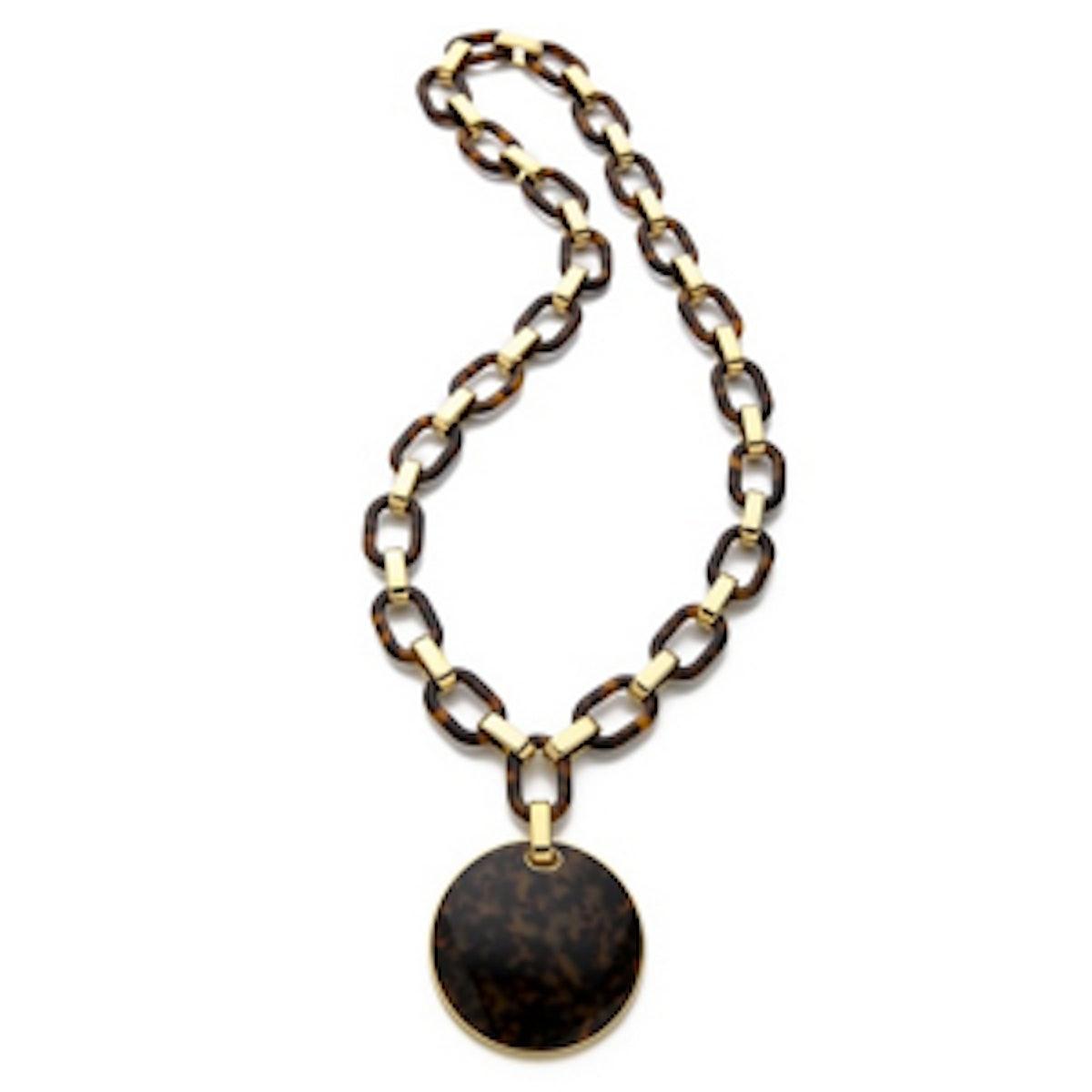 Link Disk Necklace