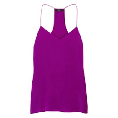 Purple Silk Cami