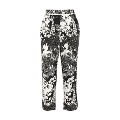 High-Rise Tapered Pants