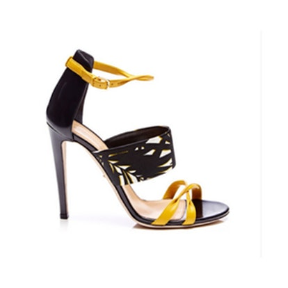 Donyale Printed Leather Sandals