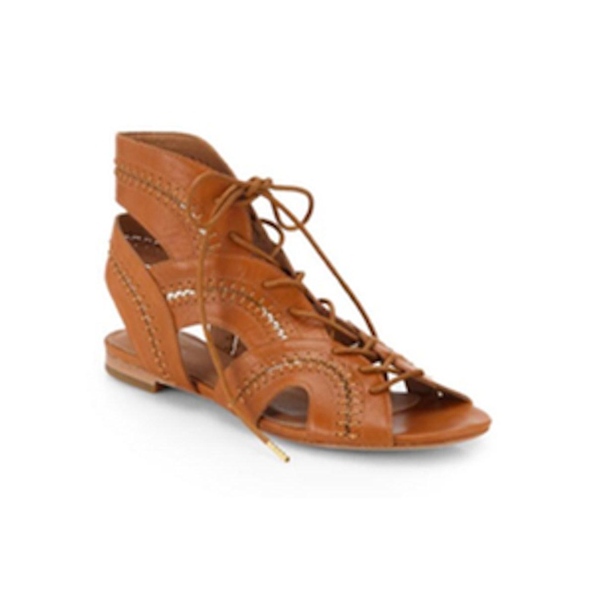 Toledo Lace-Up Sandals