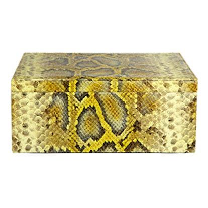 Python Embossed Box