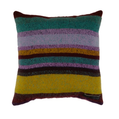 Mixed Stripe Cashmere Pillow