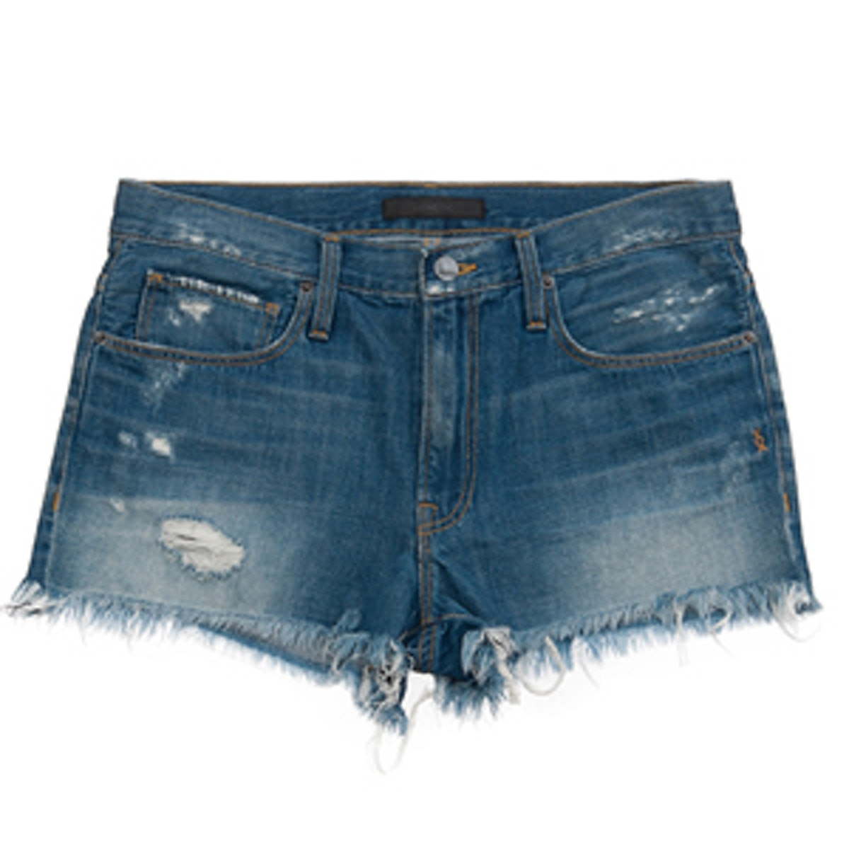 Stevie Distressed Denim Shorts