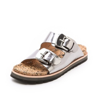 Fawn Two Band Sandals