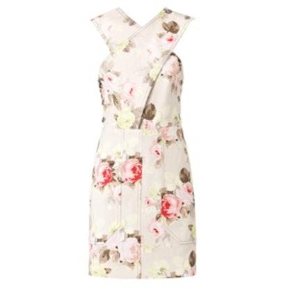 Floral Pinnie Dress