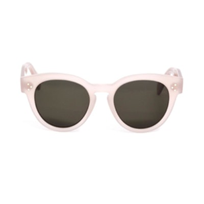 Pearly Round Sunglasses