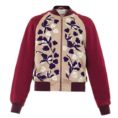 Cecily Embroidered Bomber