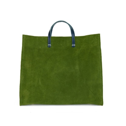 Simple Tote In Loden