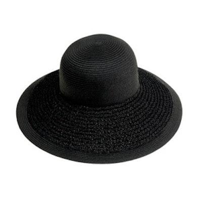 Textured Summer Straw Hat