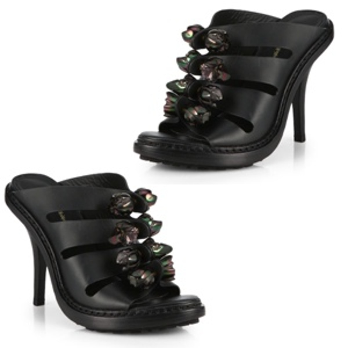 Cosmic Leather Sandals