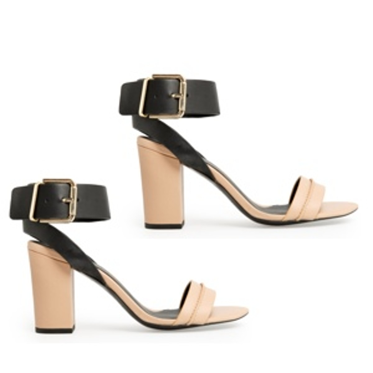 Ankle Cuff Leather Sandals