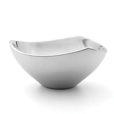 Tri-Corner Sterling Silver Bowl