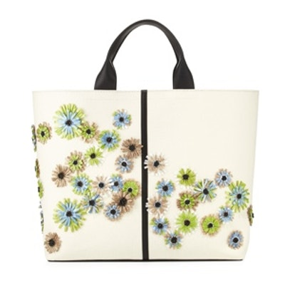 Floral Track Tote