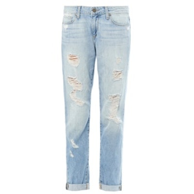 Tyler Distressed Boyfriend Jeans